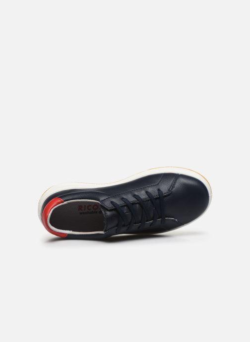 Sneaker Ricosta Detroit blau ansicht von links