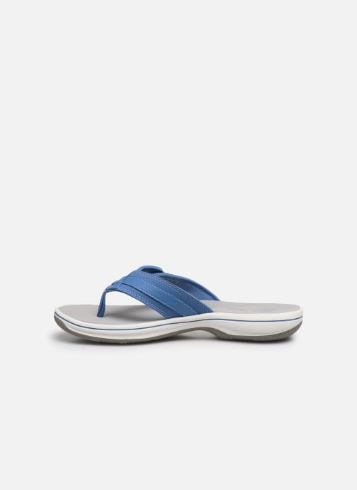 Infradito Cloudsteppers by Clarks Brinkley Sea Azzurro immagine frontale
