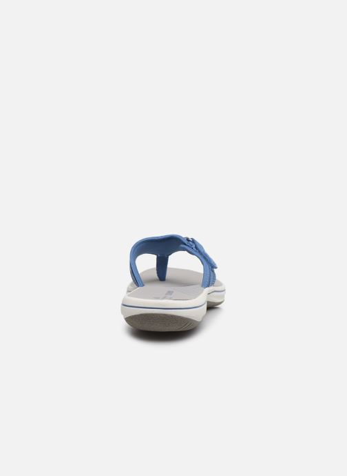 Infradito Cloudsteppers by Clarks Brinkley Sea Azzurro immagine destra