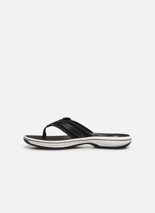 Chanclas Cloudsteppers by Clarks Brinkley Sea Negro vista de frente