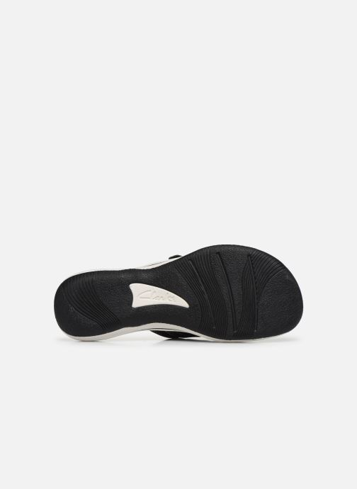 Chanclas Cloudsteppers by Clarks Brinkley Sea Negro vista de arriba