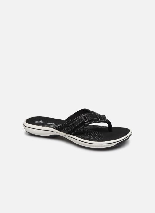 Chanclas Cloudsteppers by Clarks Brinkley Sea Negro vista de detalle / par