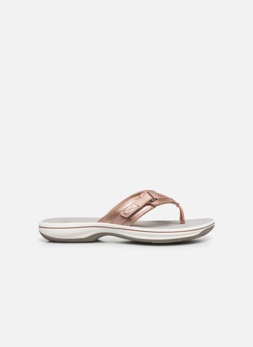 Tongs Cloudsteppers by Clarks Brinkley Sea Rose vue derrière