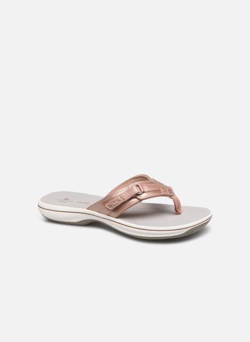 Tongs Cloudsteppers by Clarks Brinkley Sea Rose vue détail/paire