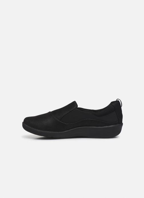 Sneaker Cloudsteppers by Clarks Sillian Paz schwarz ansicht von vorne
