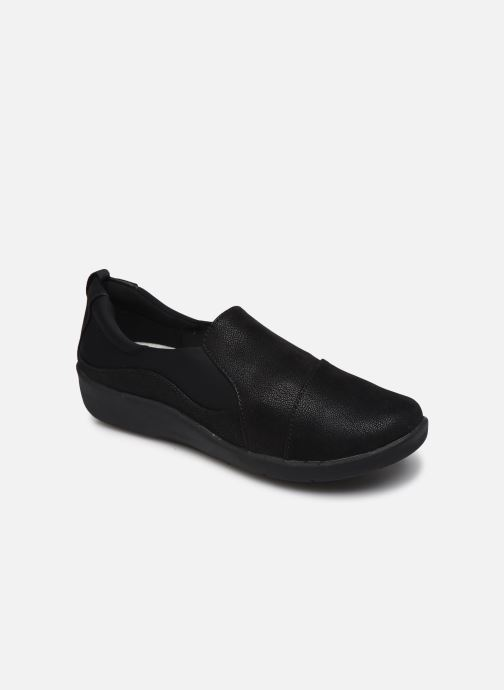 Baskets Cloudsteppers by Clarks Sillian Paz Noir vue détail/paire