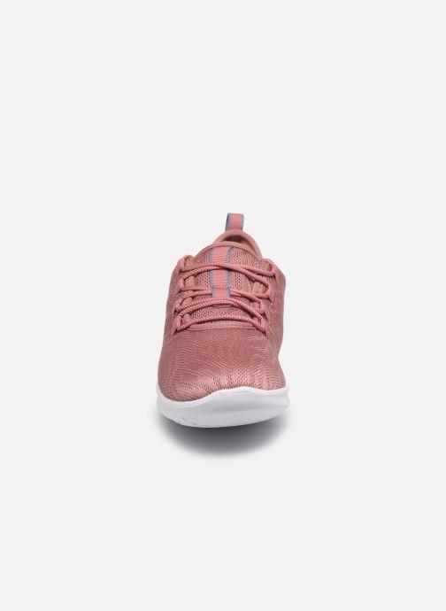 Sneaker Cloudsteppers by Clarks Step Allena Go rosa schuhe getragen