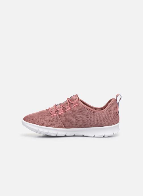 Sneaker Cloudsteppers by Clarks Step Allena Go rosa ansicht von vorne
