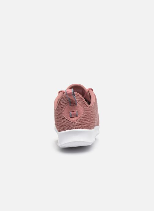 Deportivas Cloudsteppers by Clarks Step Allena Go Rosa vista lateral derecha