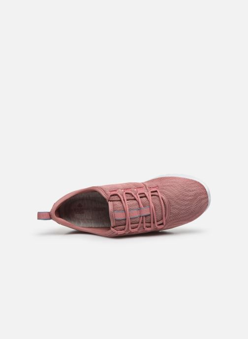 Sneaker Cloudsteppers by Clarks Step Allena Go rosa ansicht von links