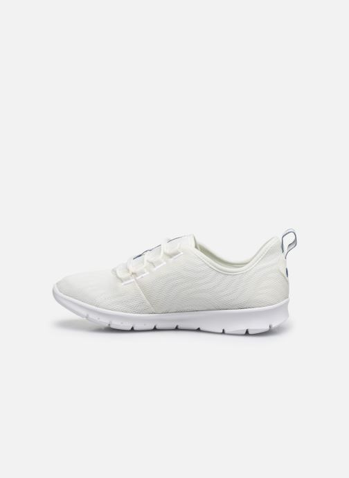 Baskets Cloudsteppers by Clarks Step Allena Go Blanc vue face