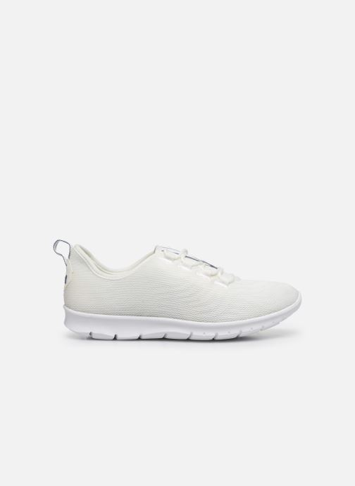 Sneakers Cloudsteppers by Clarks Step Allena Go Bianco immagine posteriore
