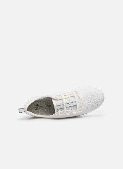Sneakers Cloudsteppers by Clarks Step Allena Go Bianco immagine sinistra