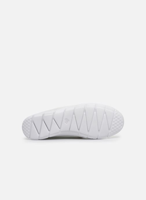 Baskets Cloudsteppers by Clarks Step Allena Go Blanc vue haut