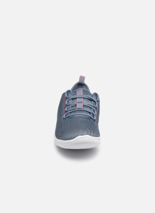 Baskets Cloudsteppers by Clarks Step Allena Go Bleu vue portées chaussures
