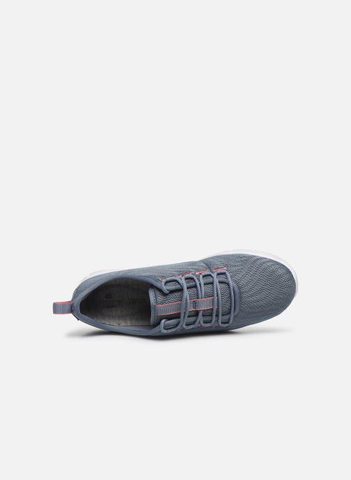 Sneaker Cloudsteppers by Clarks Step Allena Go blau ansicht von links