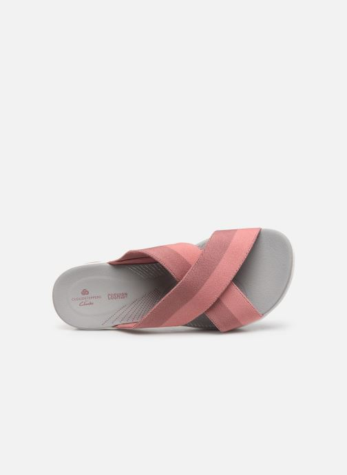 Clogs & Pantoletten Cloudsteppers by Clarks Arla Elin rosa ansicht von links