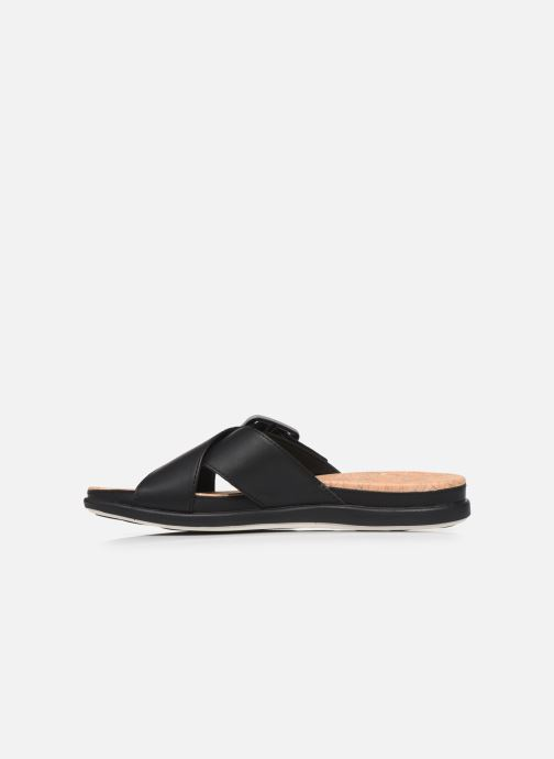 Zoccoli Cloudsteppers by Clarks Step JuneShell Nero immagine frontale