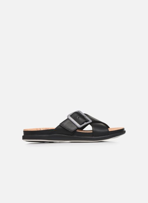 Zuecos Cloudsteppers by Clarks Step JuneShell Negro vistra trasera