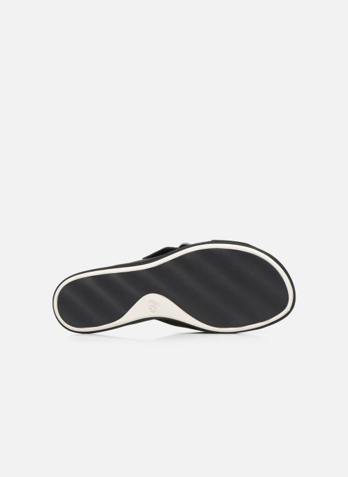 Zoccoli Cloudsteppers by Clarks Step JuneShell Nero immagine dall'alto