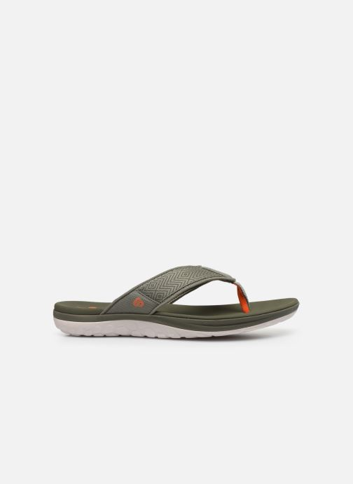 Chanclas Cloudsteppers by Clarks Step Beat Dune Verde vistra trasera