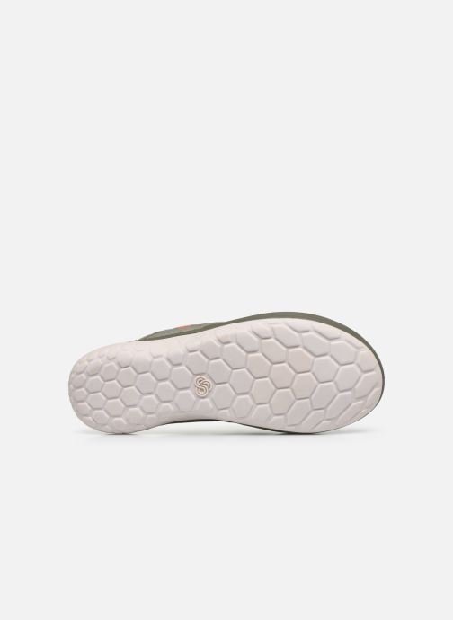 Infradito Cloudsteppers by Clarks Step Beat Dune Verde immagine dall'alto