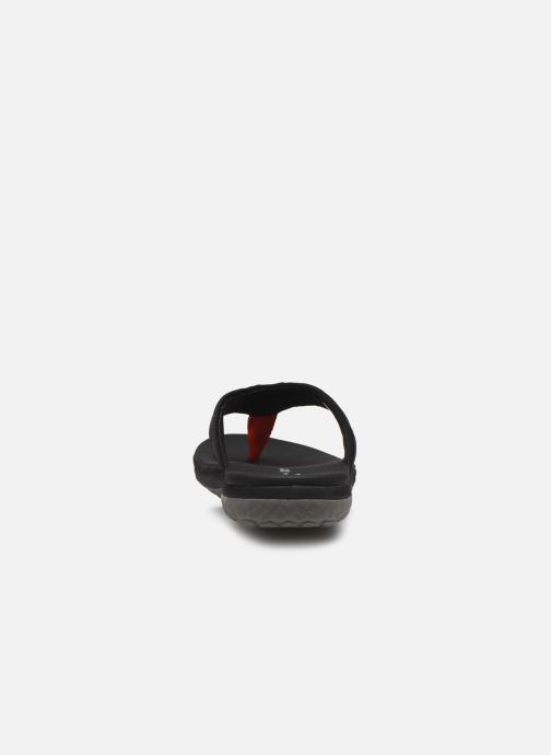 Tongs Cloudsteppers by Clarks Step Beat Dune Noir vue droite