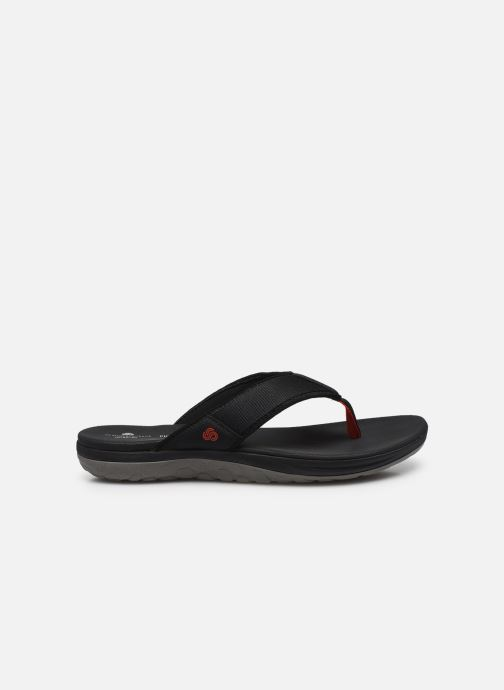 Chanclas Cloudsteppers by Clarks Step Beat Dune Negro vistra trasera