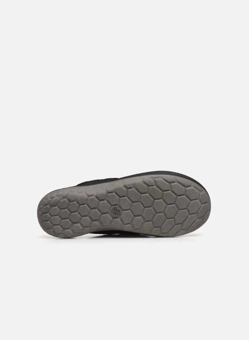 Infradito Cloudsteppers by Clarks Step Beat Dune Nero immagine dall'alto