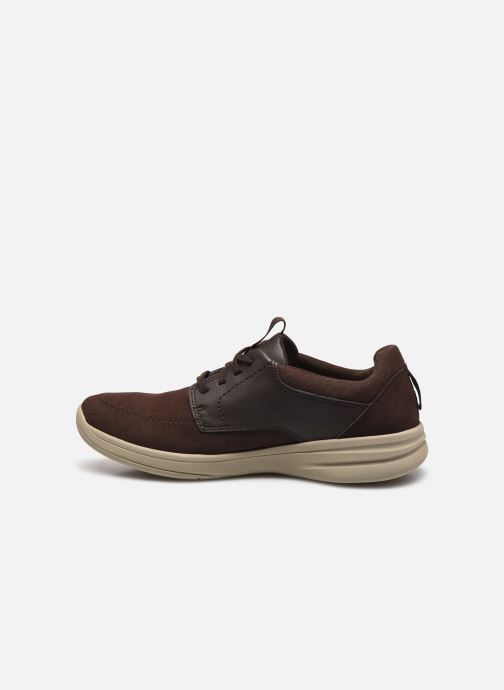 Baskets Cloudsteppers by Clarks StepStrollLace Marron vue face