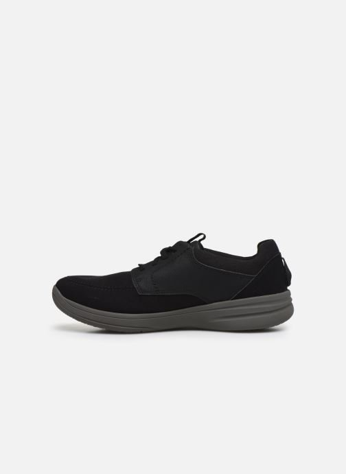 Sneakers Cloudsteppers by Clarks StepStrollLace Nero immagine frontale