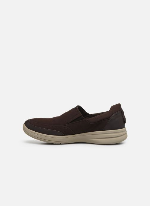 Baskets Cloudsteppers by Clarks StepStrollEdge Marron vue face