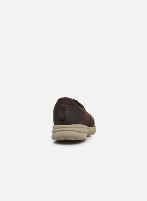 Baskets Cloudsteppers by Clarks StepStrollEdge Marron vue droite