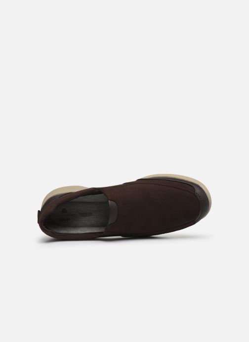Sneakers Cloudsteppers by Clarks StepStrollEdge Marrone immagine sinistra