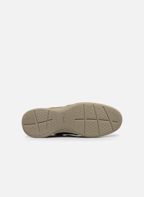 Baskets Cloudsteppers by Clarks StepStrollEdge Marron vue haut