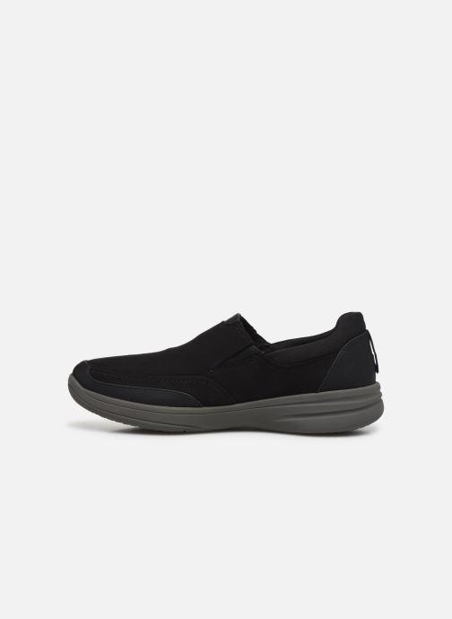 Sneakers Cloudsteppers by Clarks StepStrollEdge Zwart voorkant