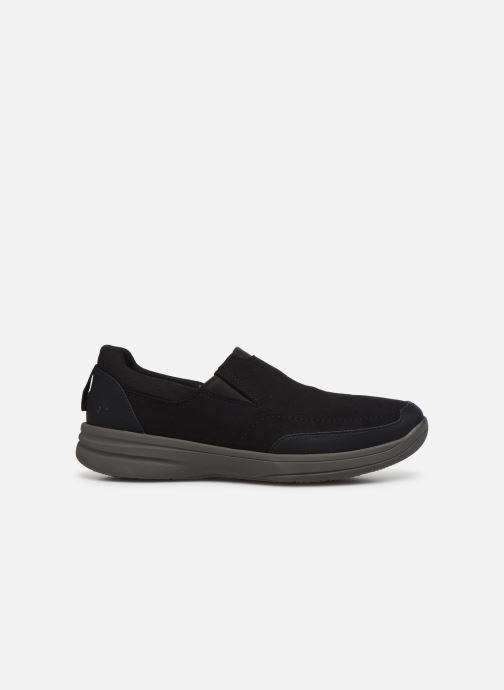 Sneakers Cloudsteppers by Clarks StepStrollEdge Zwart achterkant