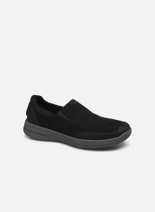 Sneakers Cloudsteppers by Clarks StepStrollEdge Zwart detail