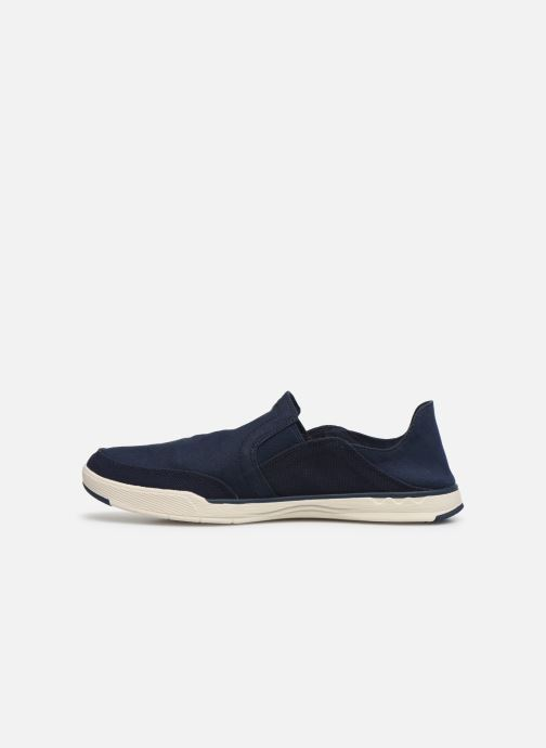 Baskets Cloudsteppers by Clarks Step Isle Row Bleu vue face