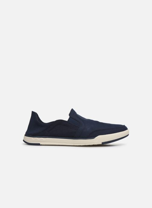 Deportivas Cloudsteppers by Clarks Step Isle Row Azul vistra trasera