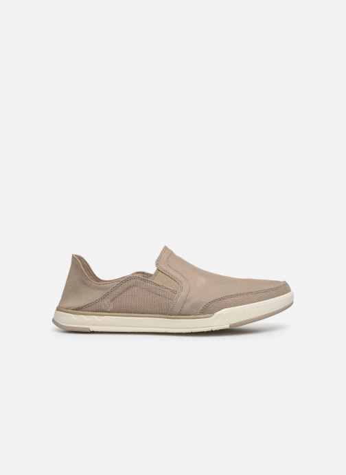 Baskets Cloudsteppers by Clarks Step Isle Row Beige vue derrière