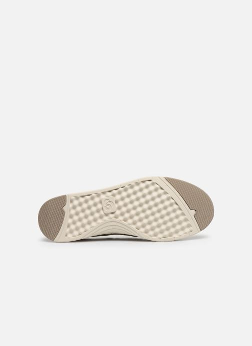 Baskets Cloudsteppers by Clarks Step Isle Row Beige vue haut