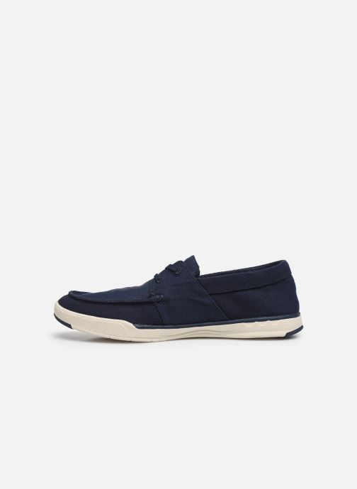 Baskets Cloudsteppers by Clarks Step Isle Base Bleu vue face