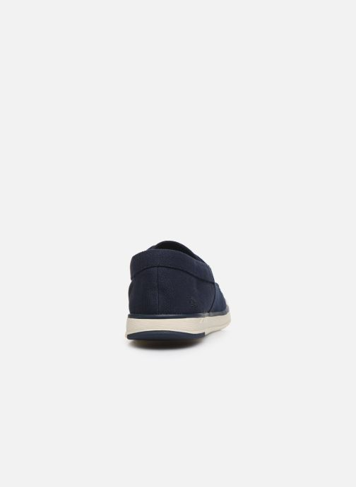 Baskets Cloudsteppers by Clarks Step Isle Base Bleu vue droite