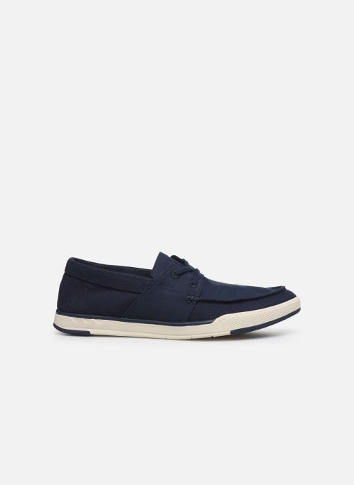 Deportivas Cloudsteppers by Clarks Step Isle Base Azul vistra trasera