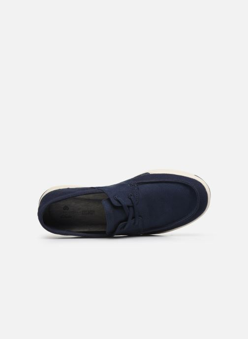 Baskets Cloudsteppers by Clarks Step Isle Base Bleu vue gauche
