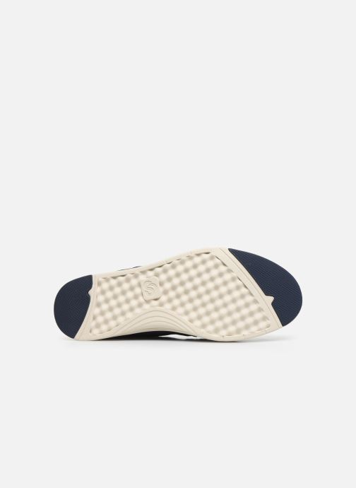 Baskets Cloudsteppers by Clarks Step Isle Base Bleu vue haut