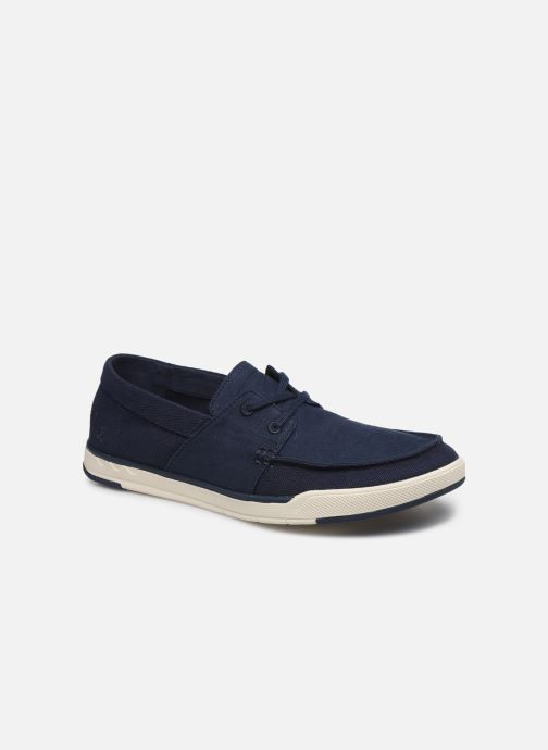 Baskets Cloudsteppers by Clarks Step Isle Base Bleu vue détail/paire