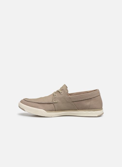 Baskets Cloudsteppers by Clarks Step Isle Base Beige vue face