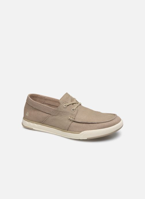 Baskets Cloudsteppers by Clarks Step Isle Base Beige vue détail/paire